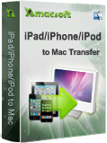 Amacsoft iPad/iPhone/iPod to Mac Transfer Discount Coupon Code