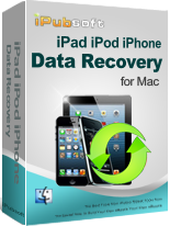 iPubsoft iPad/iPod/iPhone Data Recovery for Mac Discount Coupon Code