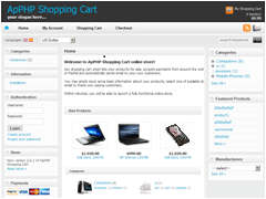 ApPHP Shopping Cart Discount Coupon Code