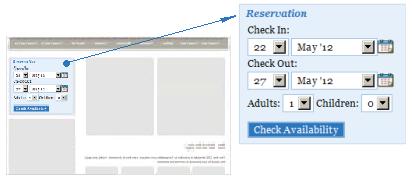 ApPHP Hotel Site Discount Coupon Code widget