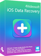 4Videosoft iOS Data Recovery Discount Coupon Code