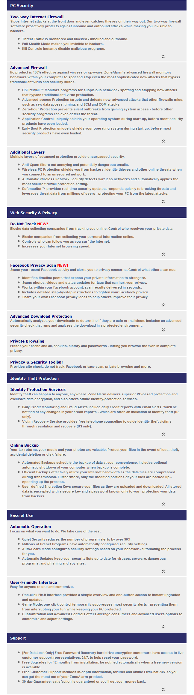 ZoneAlarm PRO Firewall-sc2