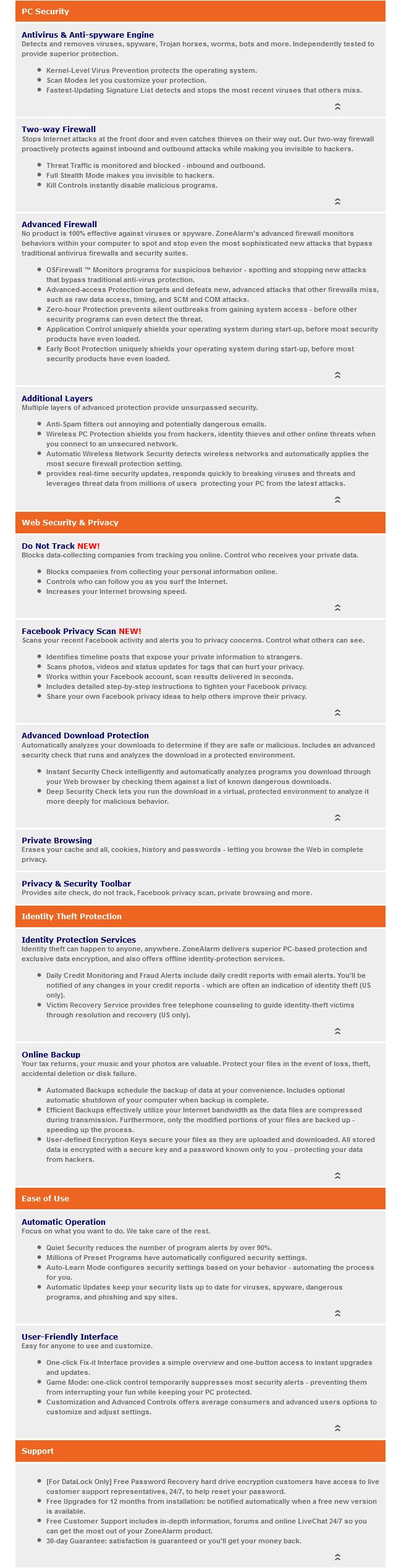 ZoneAlarm PRO Antivirus + Firewall-sc2