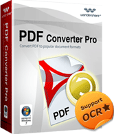 Wondershare PDF Converter Pro for Windows Discount Coupon Code
