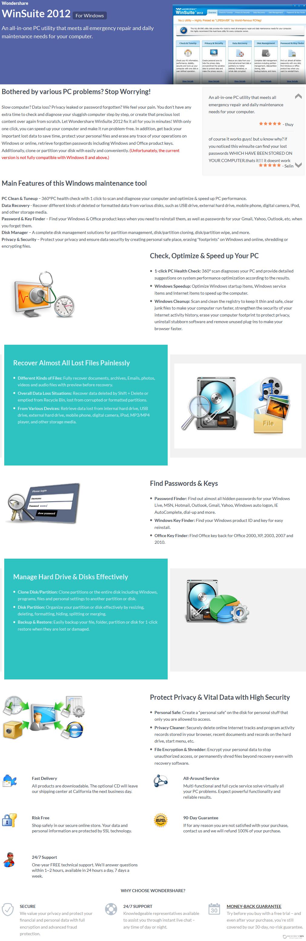 Wondershare WinSuite 2012 Discount Coupon Code