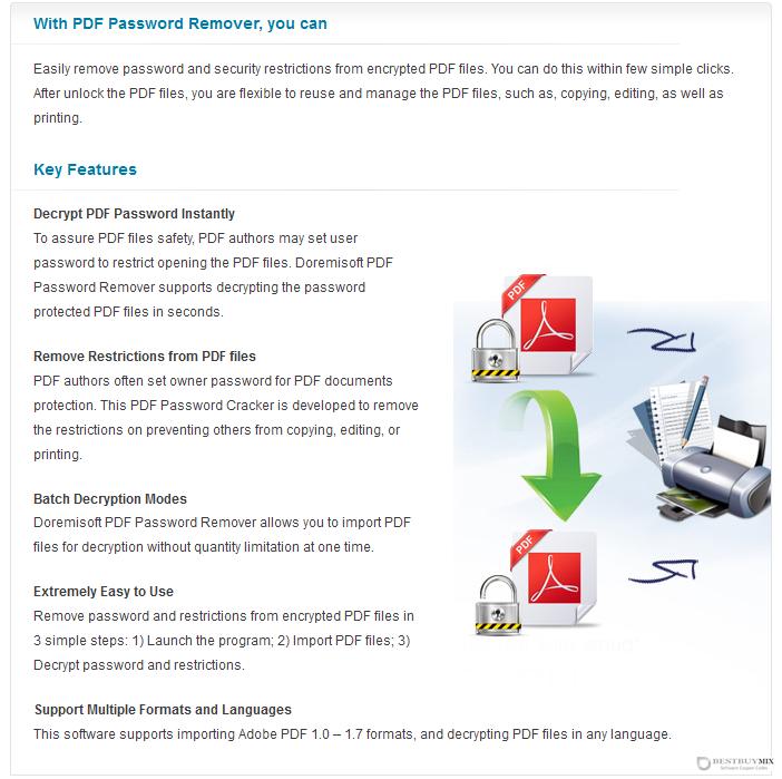 Doremisoft PDF Password Remover