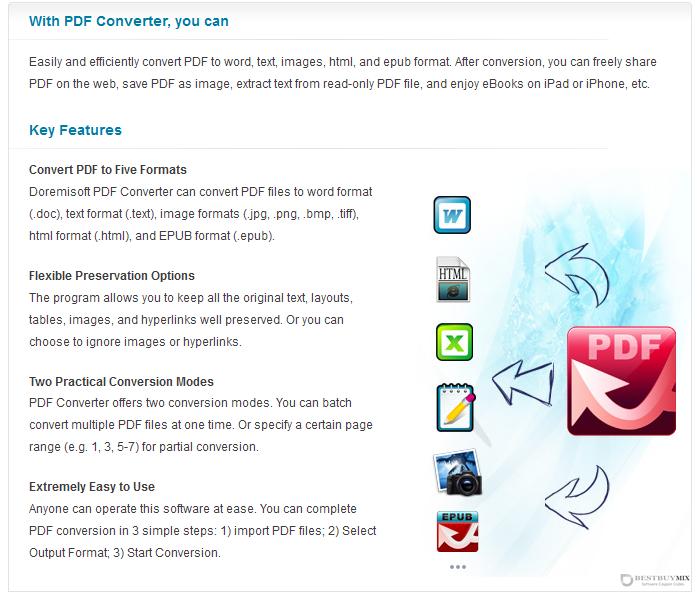 Doremisoft PDF Converter