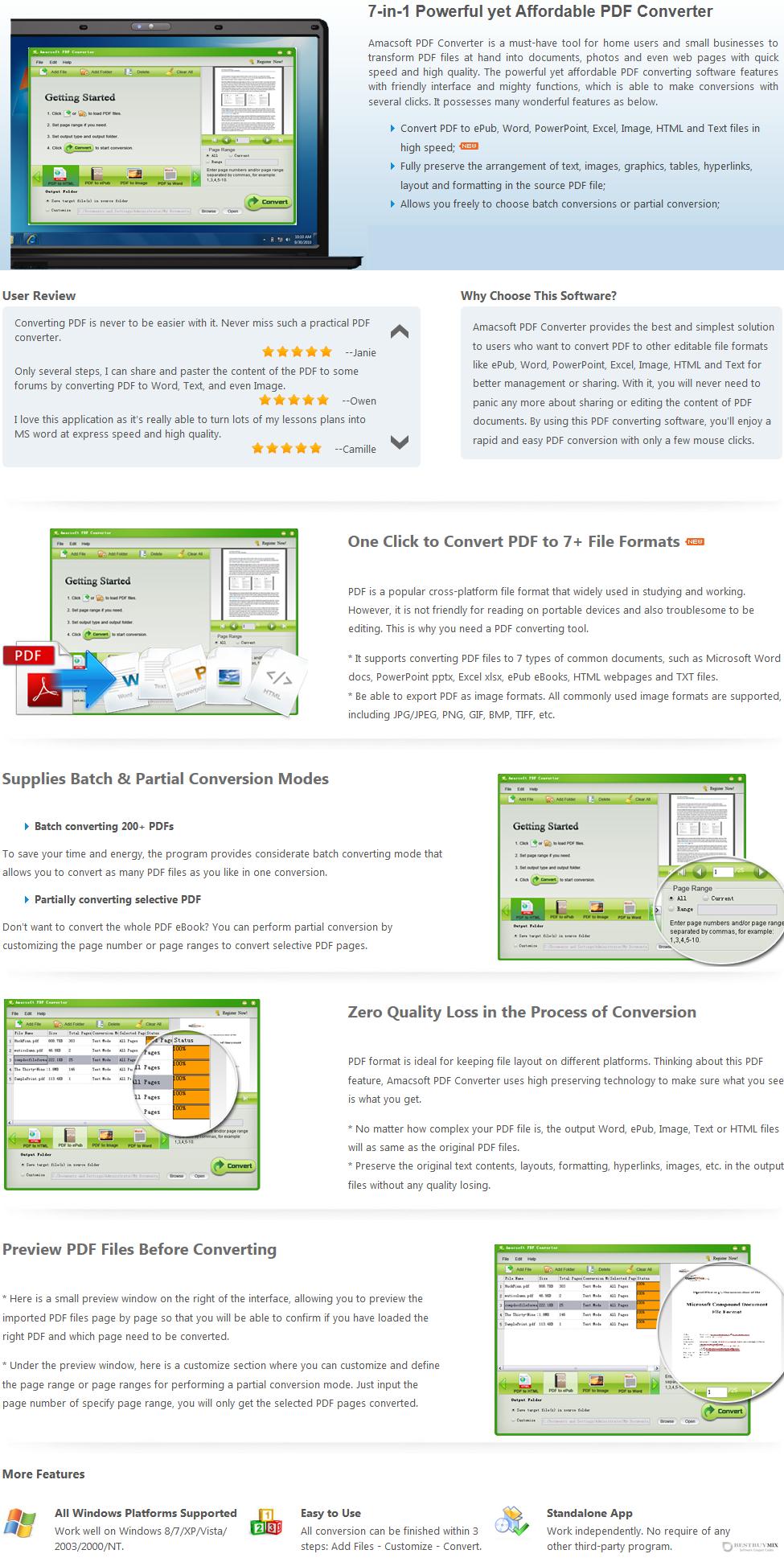 Amacsoft PDF Converter Discount Coupon Code