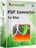 Amacsoft PDF Converter for Mac Discount Coupon Code
