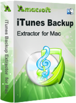 Amacsoft iTunes Backup Extractor for Mac Discount Coupon Code