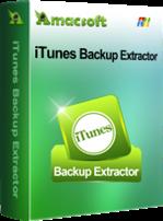 Amacsoft iTunes Backup Extractor Discount Coupon Code