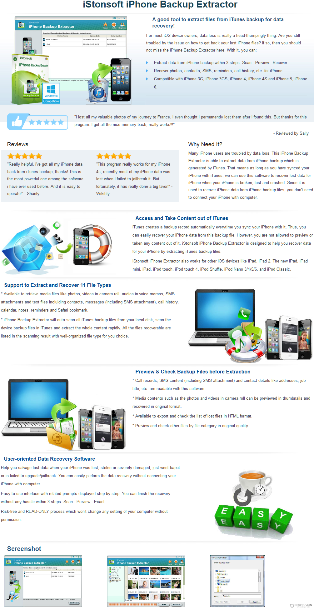 iStonsoft iPhone Backup Extractor Discount Coupon Code