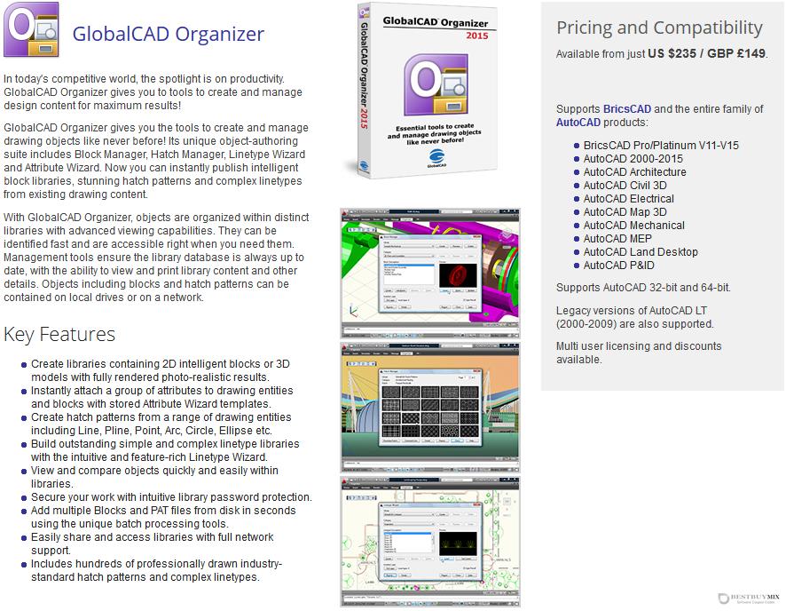 GlobalCAD Organizer Discount Coupon Code