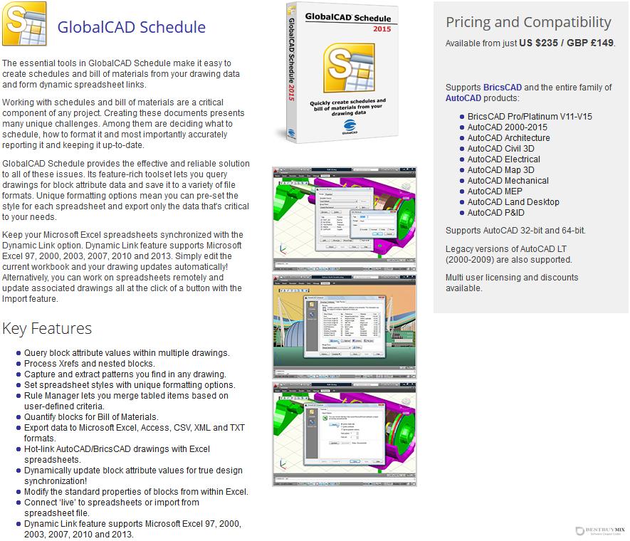 GlobalCAD Schedule Discount Coupon Code