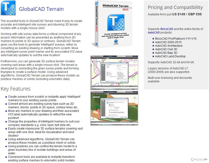 GlobalCAD Terrain 2015 Discount Coupon Code