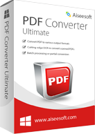 Aiseesoft PDF Converter Ultimate Discount Coupon Code