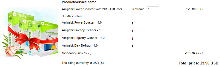 Amigabit PowerBooster + 2015 Gift Pack Discount Coupon Code