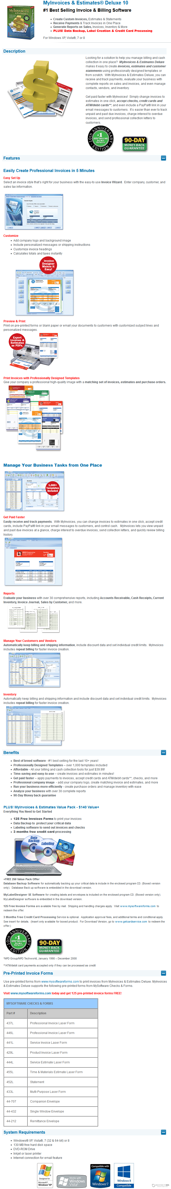 Avanquest my invoices estimates deluxe discount coupon code for Deluxe invoices and estimates