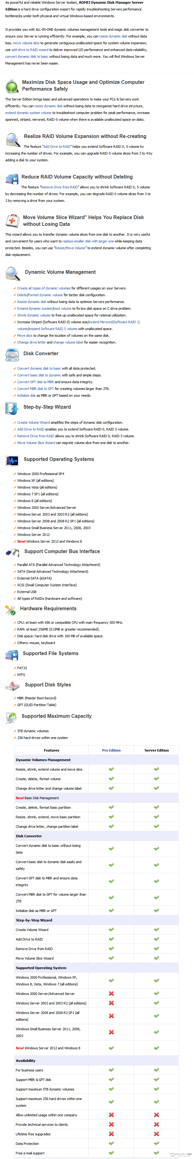 Aomei Dynamic Disk Manager Server Edition Discount Coupon Code