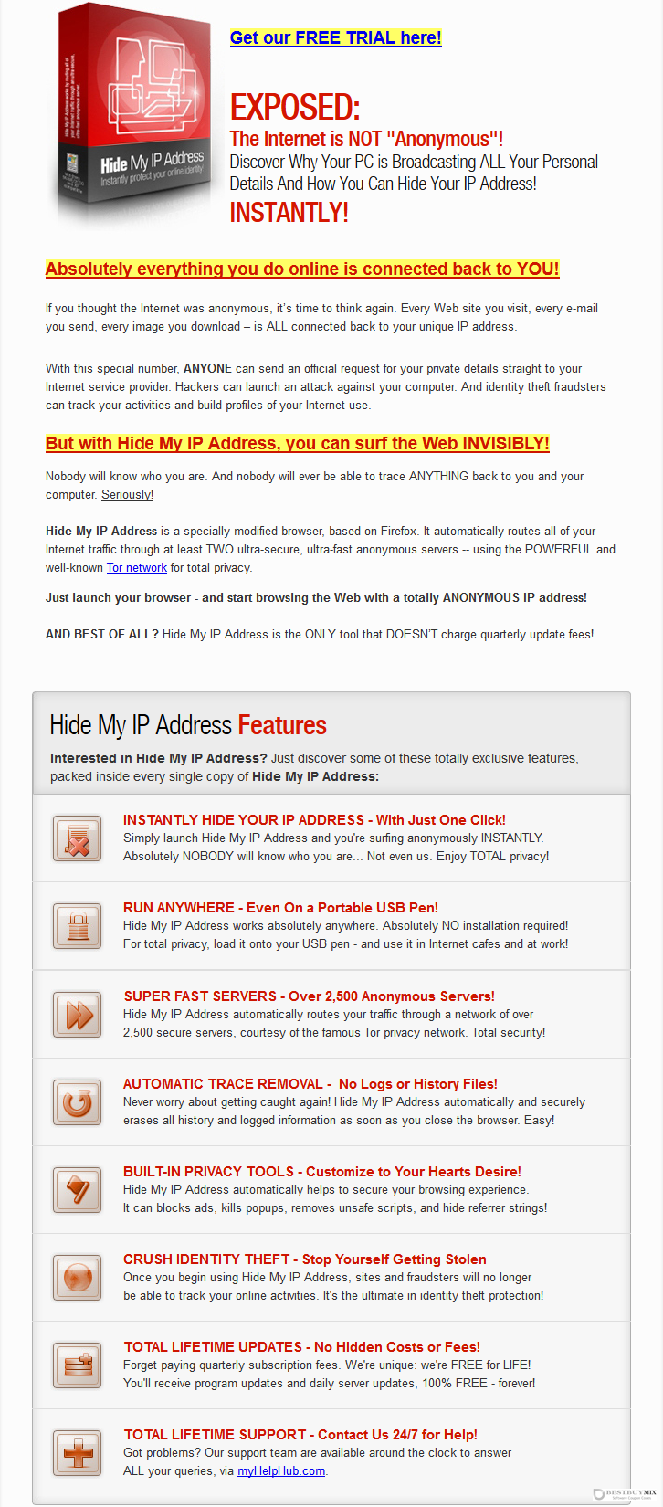 Hide My IP Address Software Discount Coupon Code
