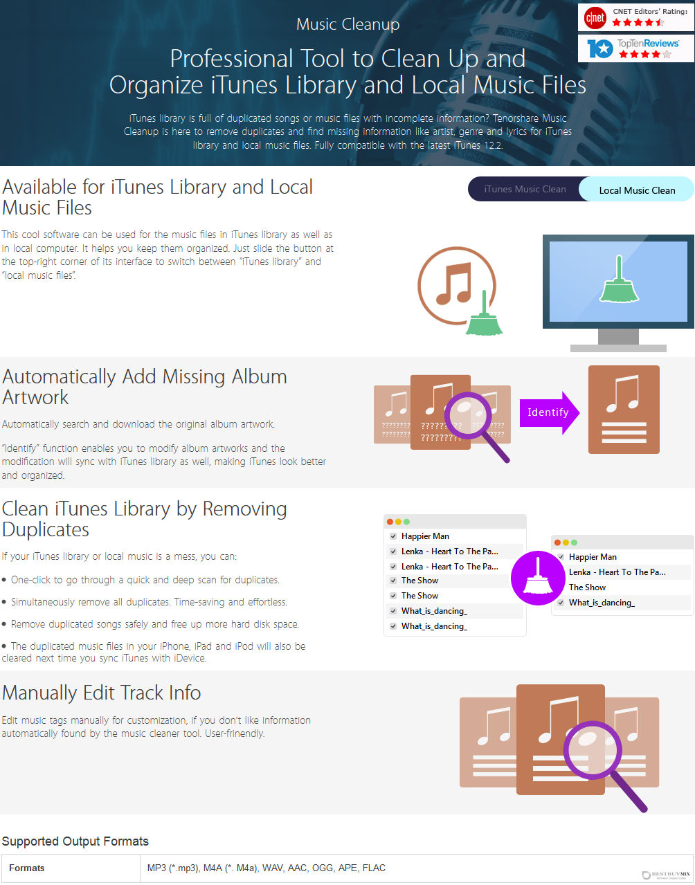 Tenorshare Music Cleanup Discount Coupon Code