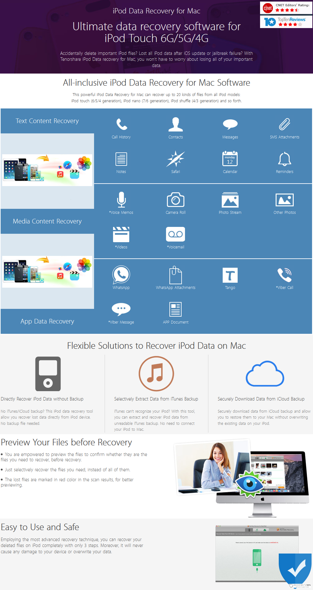 Tenorshare iPod Data Recovery for Mac Discount Coupon Code