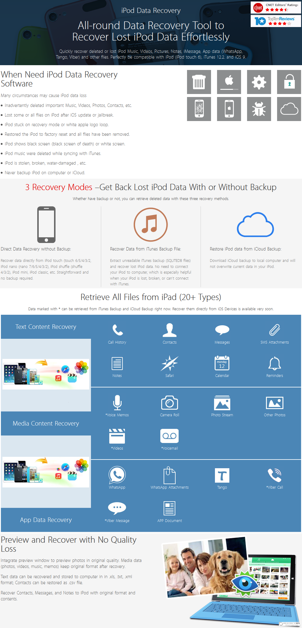 Tenorshare iPod Data Recovery Discount Coupon Code