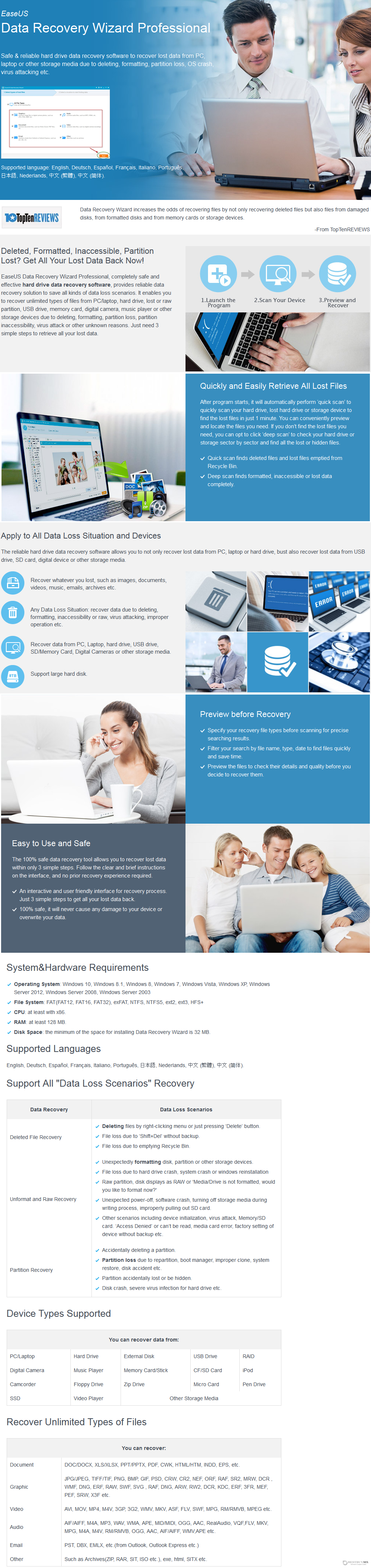 EaseUS Data Recovery Wizard Professional Discount Coupon Code