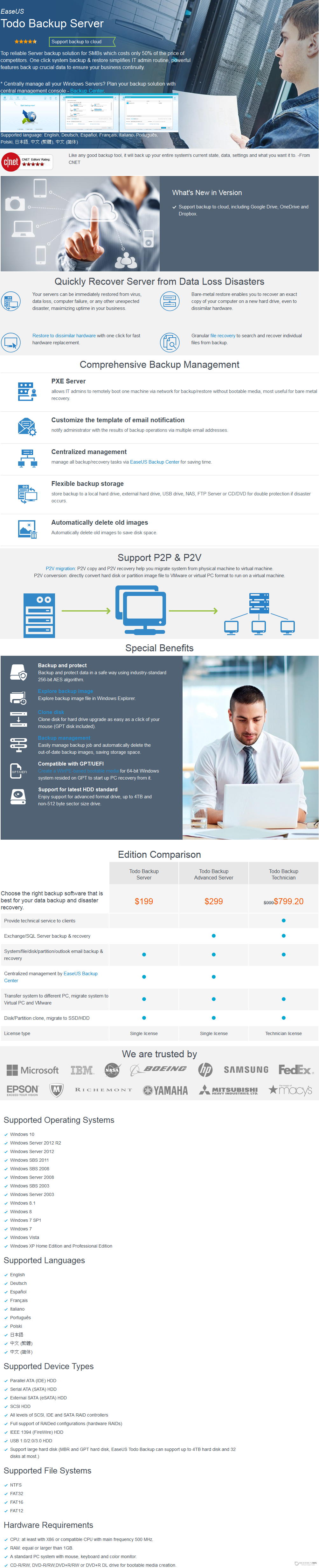 EaseUS Todo Backup Server Discount Coupon Code