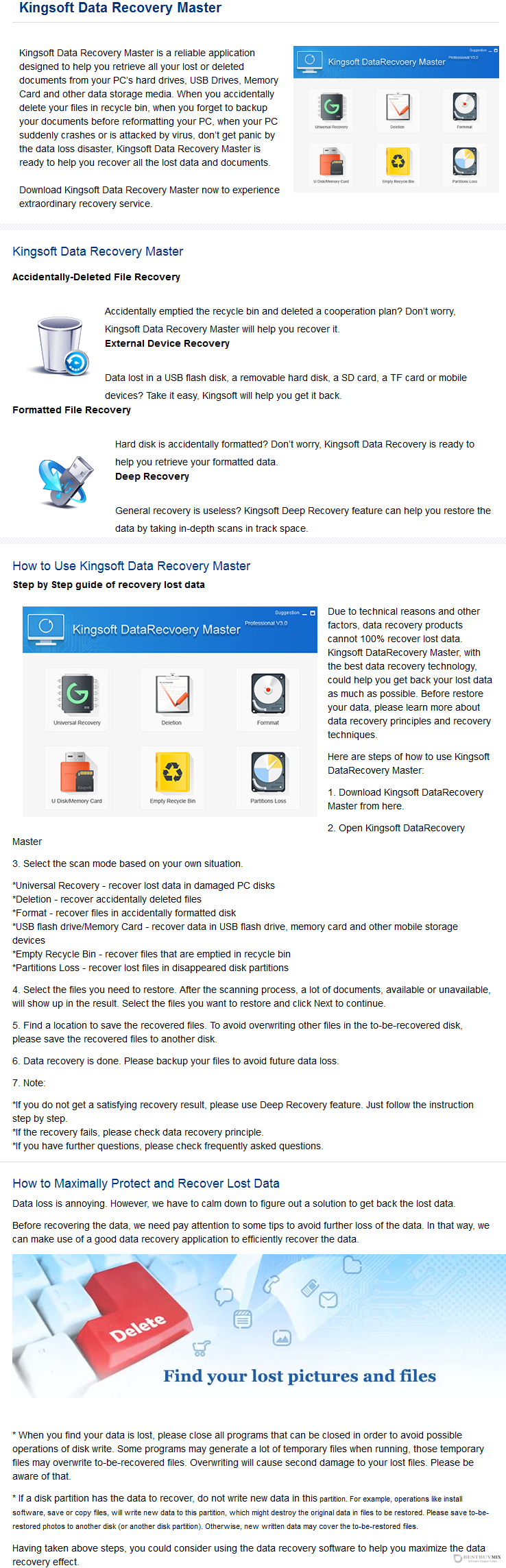 Kingsoft Data Recovery Discount Coupon Code